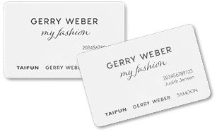 Gerry Weber Kundenkarte Flyout