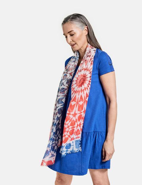 gerry weber - Schal mit Batikmuster Mehrfarbig OneSize