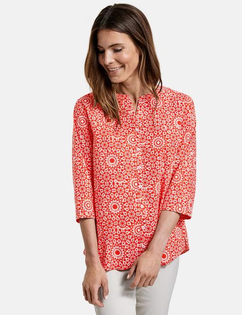 gerry weber - Bluse mit Ornamentmuster Mehrfarbig 48/XL