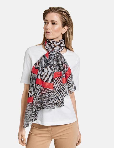 gerry weber - Schal mit Patchmuster Mehrfarbig OneSize