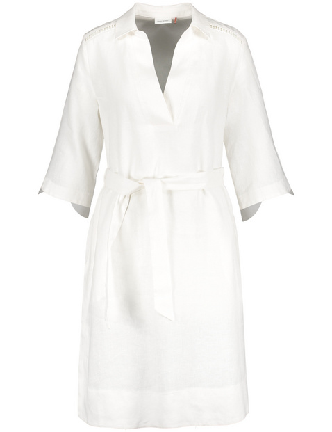 gerry weber - Blusenkleid aus Leinen Beige 48/XL