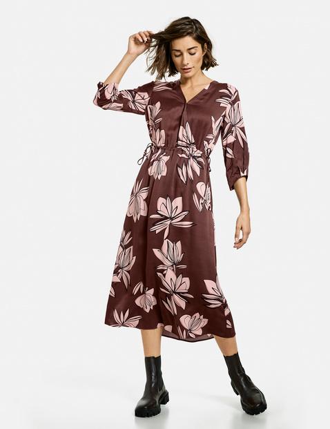 gerry weber - Kleid mit großen Blumen Mehrfarbig 48/XL