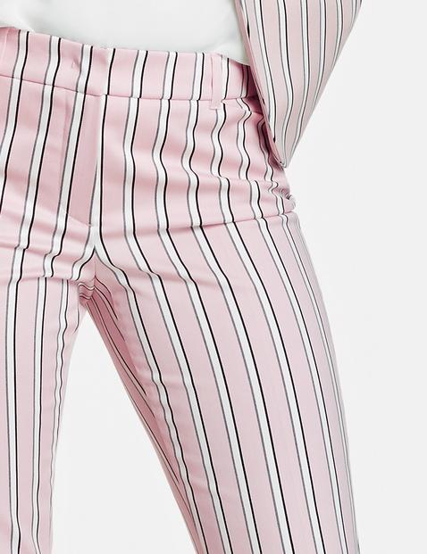 Hose mit Streifenmuster Slim Peg Leg