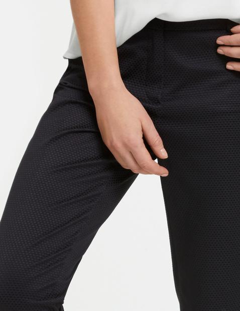 7/8 Businesshose, Slim Peg Leg