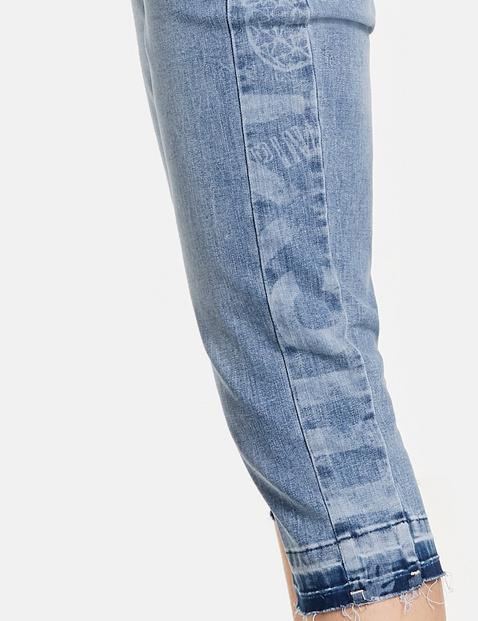 Capri-Jeans mit Stretchkomfort Cropped TS