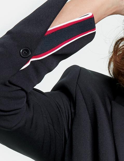 Stretch-Blazer mit Zippertaschen