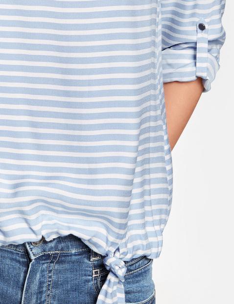 Blusenshirt mit Bindeschleife