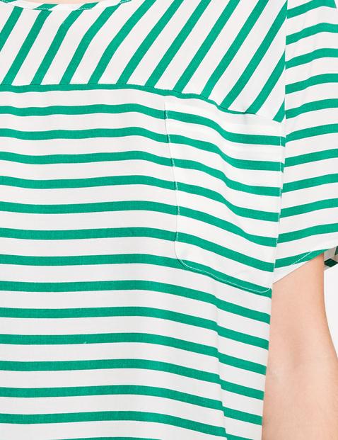 Blusenshirt im Streifen-Design
