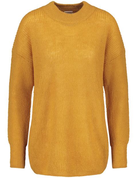 Pullover mit Patentstrick
