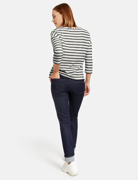 Jeans with turn-up hems, Skinny TS