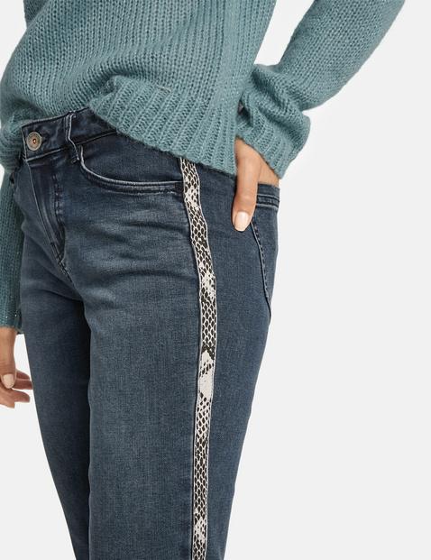 Jeans mit Seitenstreifen Super Skinny TS