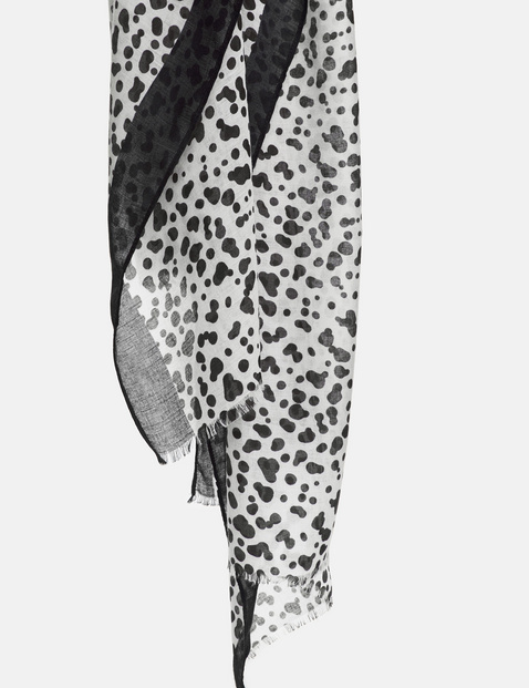 Schal mit Dalmatiner-Print