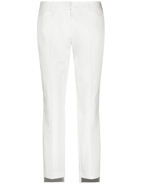 7/8 Hose mit High-Low-Saum Slim Peg Leg