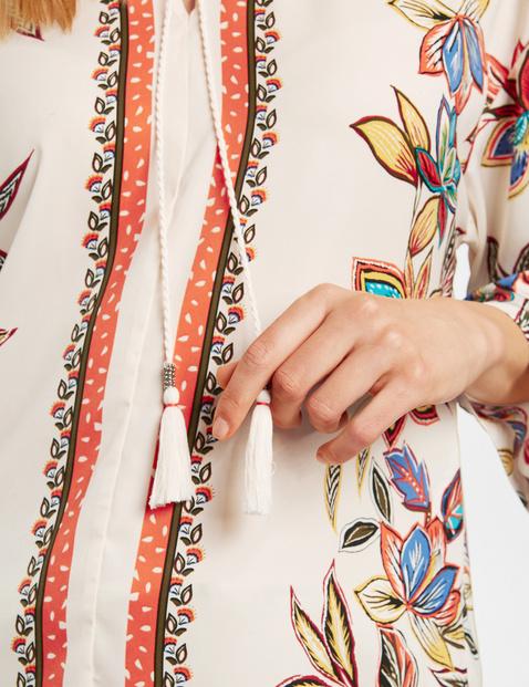Tunika mit Flower-Print