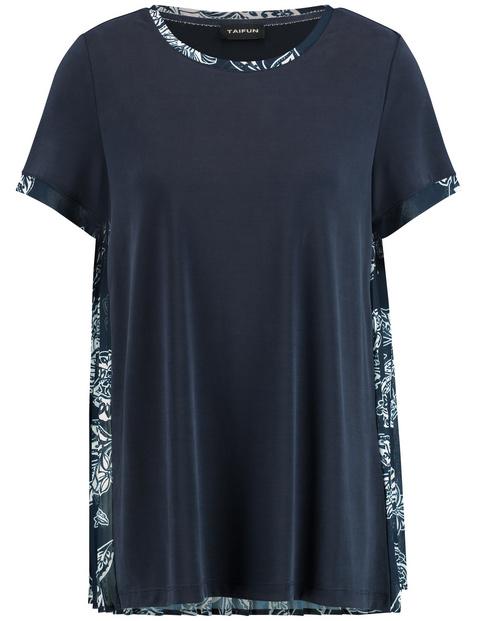 Shirt mit Plissée-Rücken