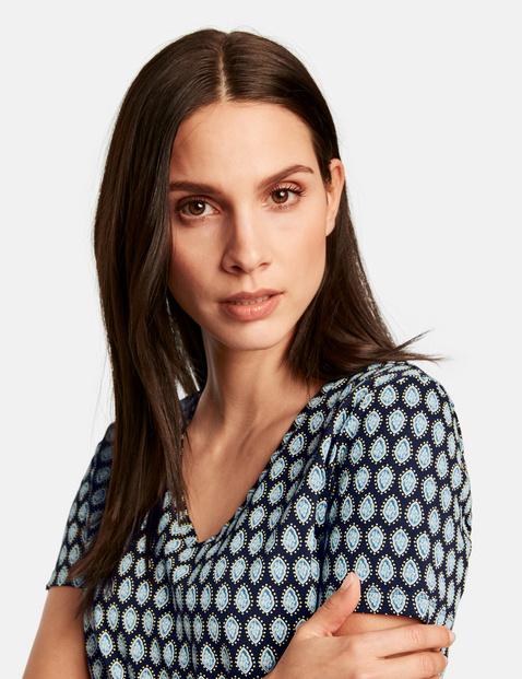 T-Shirt mit Allover-Print organic cotton