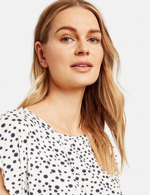 T-Shirt mit Dots-Allover