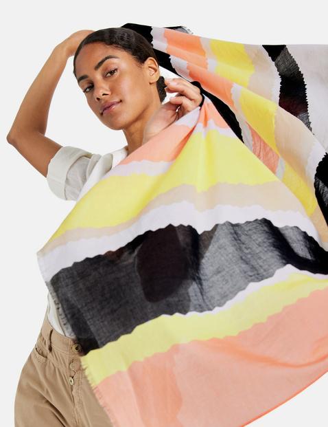 Cotton voile scarf
