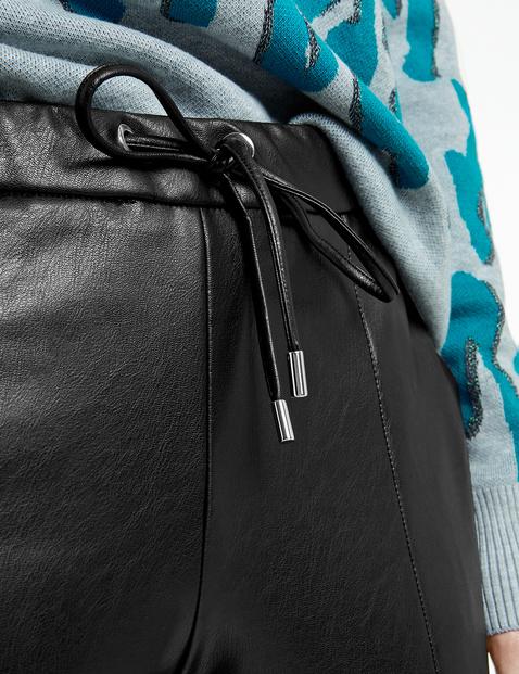 Loungepants in Leder-Optik