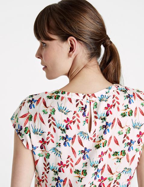 Blusenshirt mit Blumen-Print
