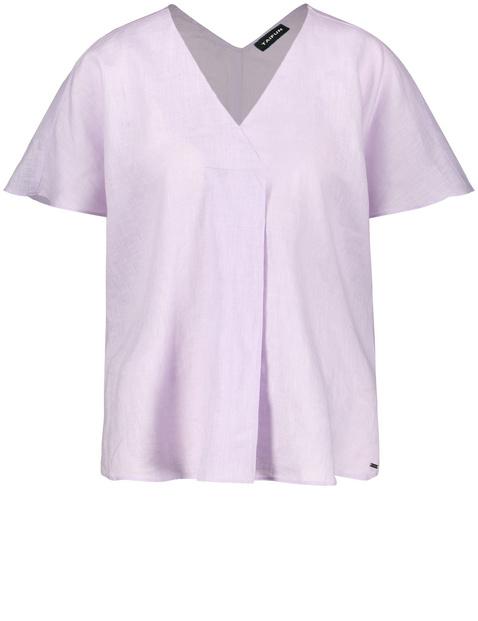 Blusenshirt aus Leinen