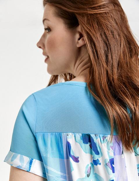 Shirt mit Rücken-Print