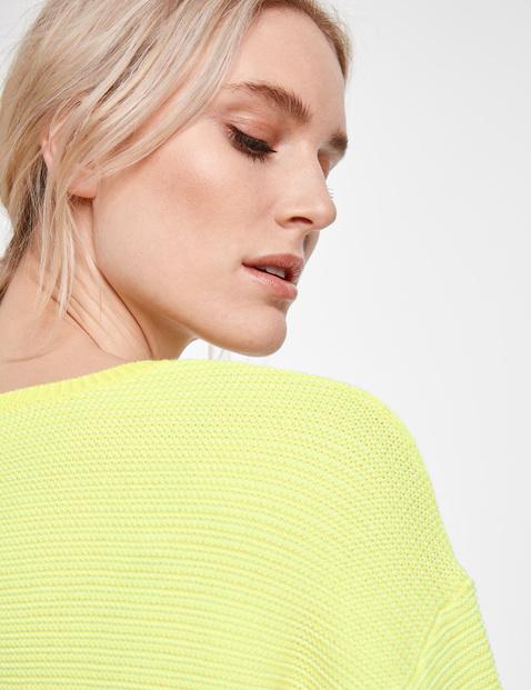 Pullover mit Links-Struktur