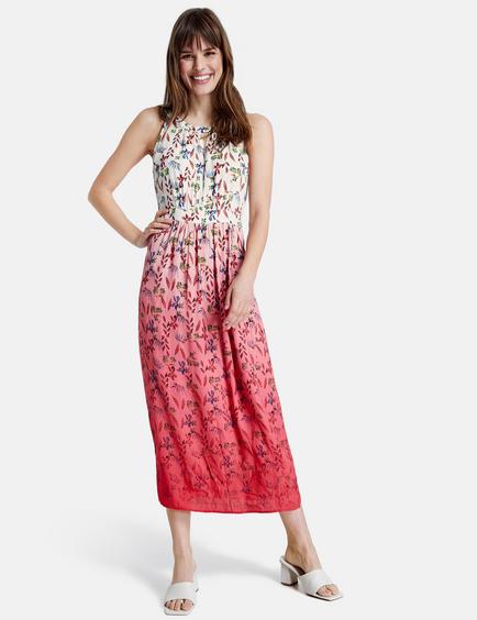 Armelloses Kleid Mit Blumen Print In Pink Gerry Weber
