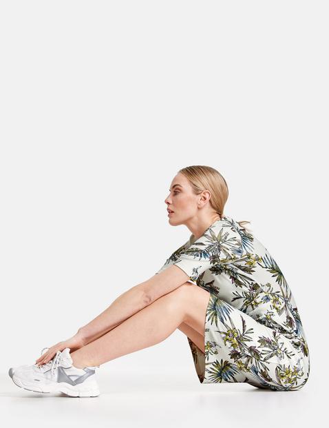 Kleid aus Interlock-Jersey EcoVero