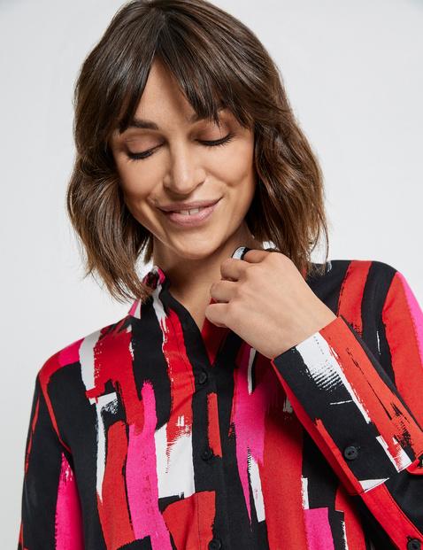 EcoVero viscose long blouse