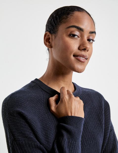 Pullover mit Kaschmir-Touch