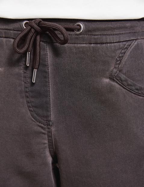 Spodnie o dł. 7/8 z efektem cold dye, Loungepants TS