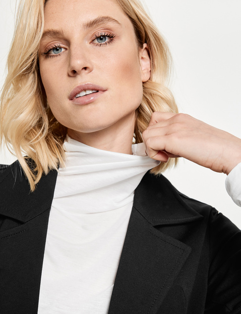 Bolero blazer with 3/4-length sleeves