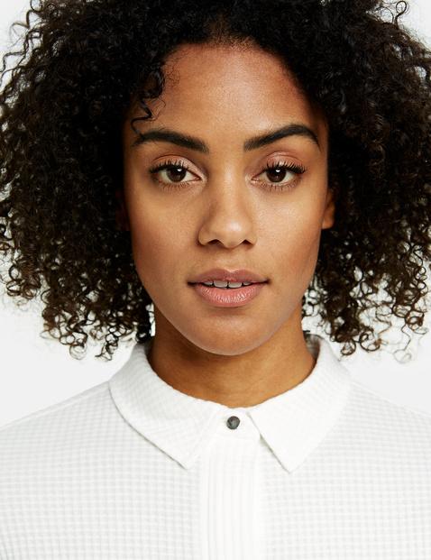 Katoenen blouse met structuur