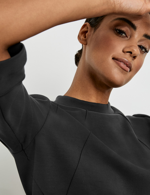 Superweiches 3/4 Arm Shirt mit Biesen