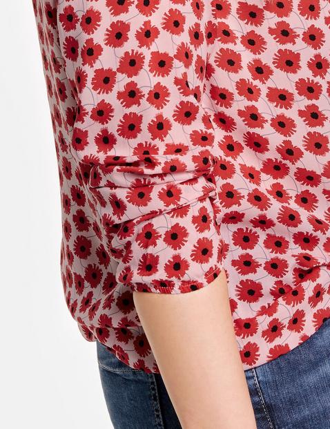 Blusenshirt mit Flower-Print