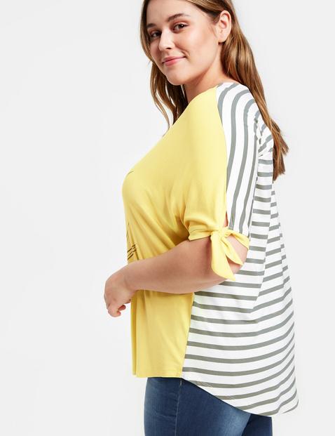 Shirt mit Schleifenzier