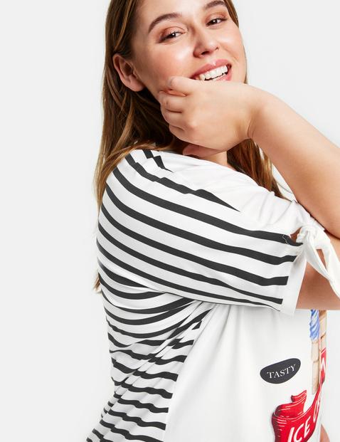 Shirt mit Eiscreme-Print