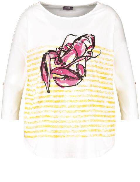 3/4 Arm Shirt mit Lobster-Print
