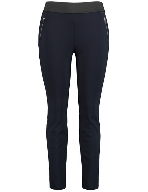 Elasticated slip-on trousers Lucy