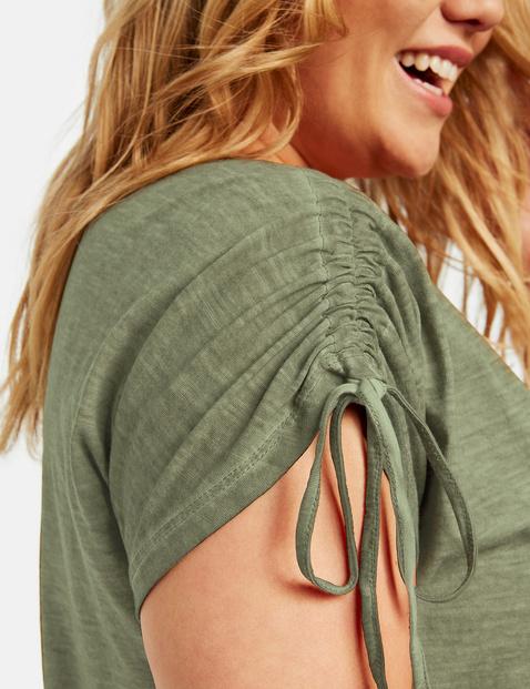Shirt mit Front-Applikation organic cotton