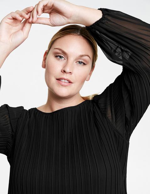 Geplisseerde blouse