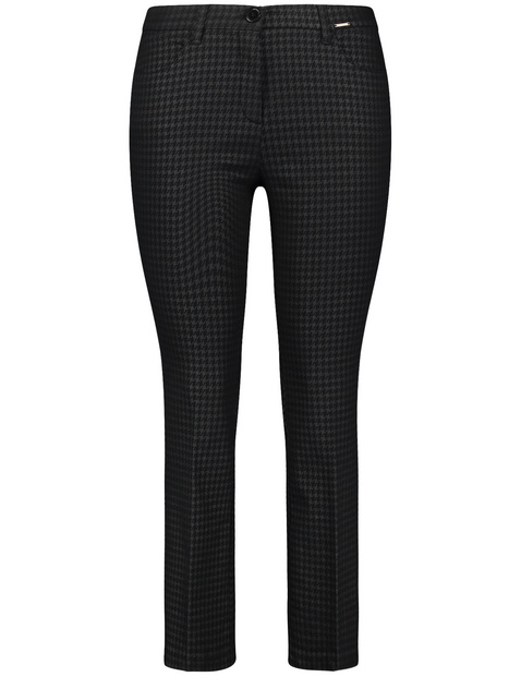 Flared Betty trousers with a 7/8 leg