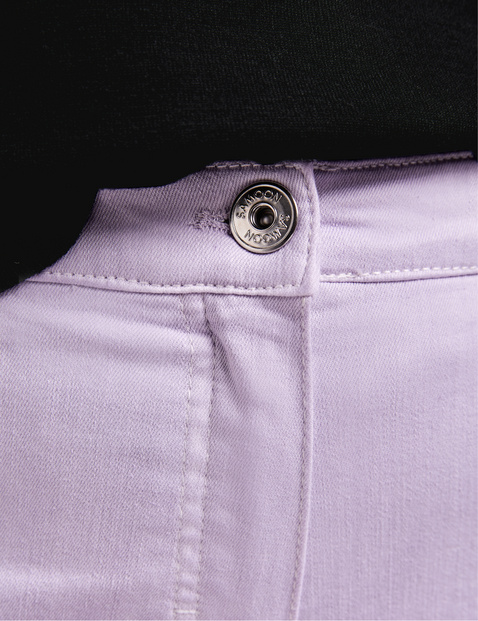 5-pocket trousers with colour graduation