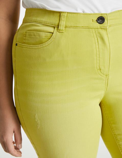 Farbowane dżinsy Betty