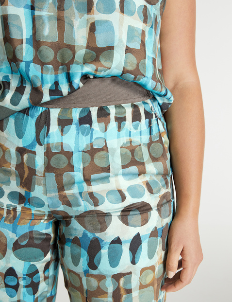 Carlotta Palazzo trousers with a print