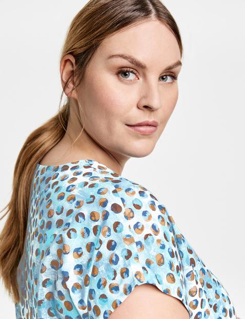 Organic cotton blouse top