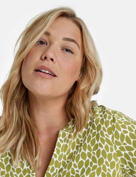 Casual short sleeve EcoVero blouse