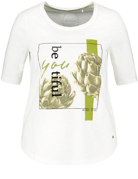 SAMOON shirt by Gerry Weber Col Rond belle légère été Qualité Femmes Taille