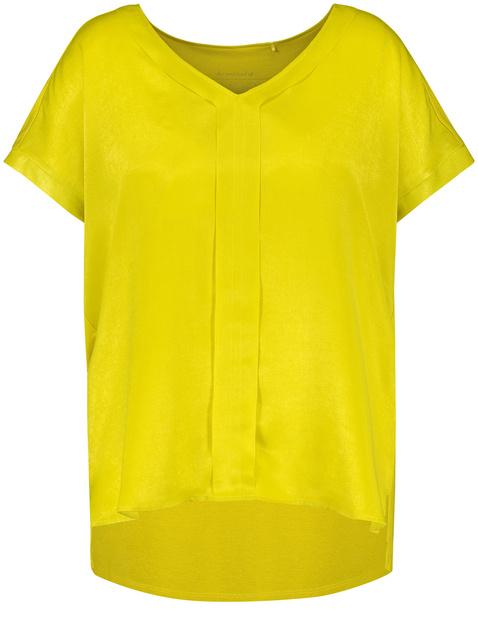 Blouseachtig shirt met V-hals